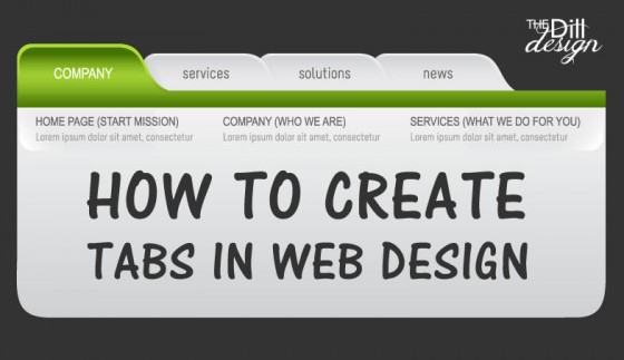 How-to-create-tabs-in-webdesign