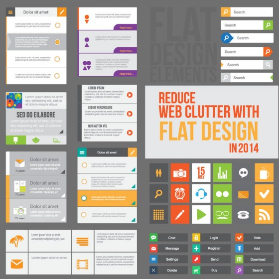 Reduce-Web-Clutter-with-Flat-Design