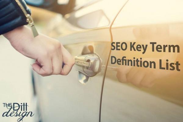 SEO Key Term Definition List